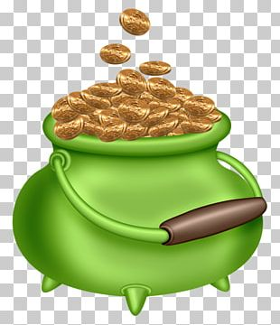 Ireland Saint Patricks Day Leprechaun Gold PNG
