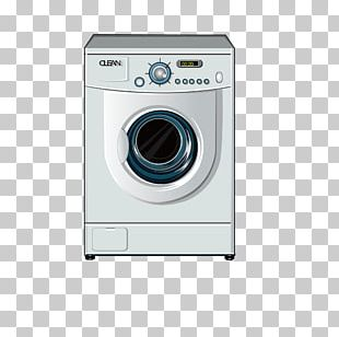 Washing Machine Clothes Dryer Home Appliance Combo Washer Dryer PNG