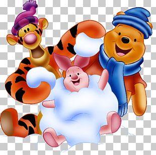 Winnie The Pooh Piglet Eeyore Tigger Christmas PNG