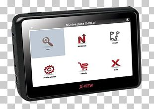 GPS Navigation Systems Display Device Car Electronics Accessory Gadget PNG