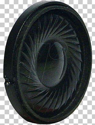 Tire Loudspeaker Visa 1.4 Inch Diameter 1.0W 50 Ohm Ultra Thin Full Range Speaker Wheel PNG