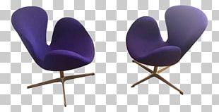 Eames Lounge Chair Swan Danish Modern Fritz Hansen PNG
