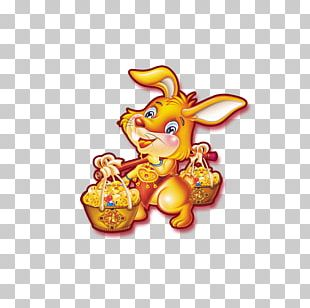Greeting Card Chinese New Year Rabbit PNG