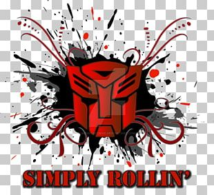 Design Logo Autobot Digital Art PNG