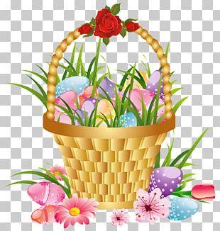 Flower Basket PNG