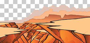 Drawing Desert Illustration PNG