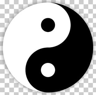 The Book Of Balance And Harmony Yin And Yang Symbol Taoism PNG