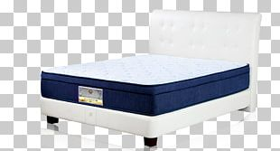 Bed Frame Box-spring Mattress Comfort PNG