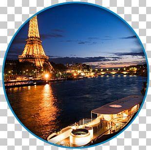 Eiffel Tower Seine Yacht Joséphine Paris PNG