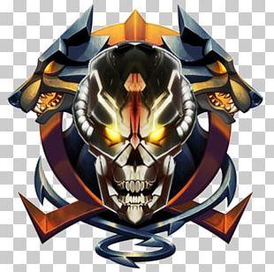 Logo Warframe Video Gaming Clan PNG