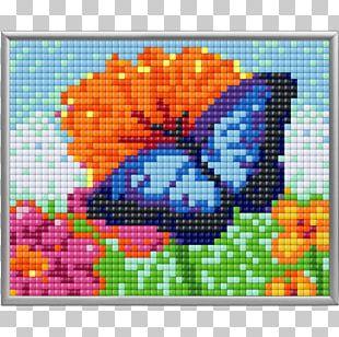 Minecraft Mods Pixel Art Cross-stitch PNG