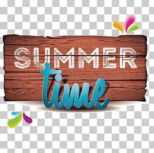 Beach Holiday Summer Illustration PNG