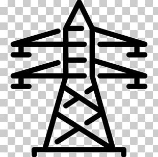 Electricity Electric Power Computer Icons Transmission Tower PNG