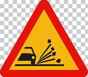 Traffic Sign Car Dump Truck Road PNG