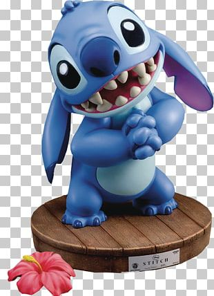 Stitch Lilo Pelekai Statue Action & Toy Figures Character PNG