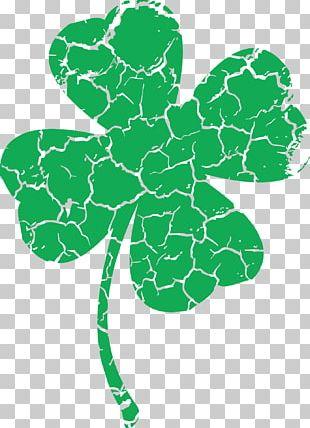 T-shirt Saint Patrick's Day Shamrock Four-leaf Clover Clothing PNG
