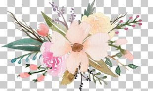 Watercolor Painting Drawing Flower Art PNG