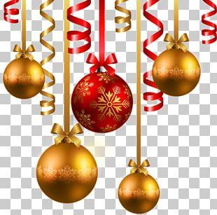 Santa Claus Village Père Noël Christmas Ornament PNG