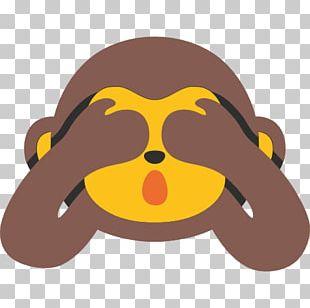 The Evil Monkey Three Wise Monkeys Emoji Emoticon PNG