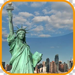 Statue Of Liberty Ellis Island Monument Desktop PNG