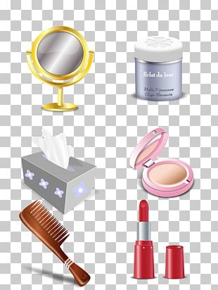 Cosmetics Make-up Beauty Icon PNG