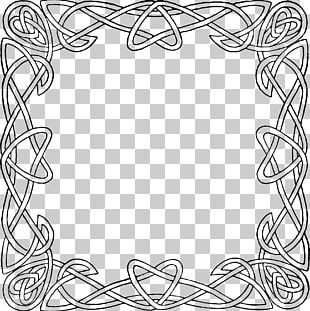 Celtic Knot Celtic Frames And Borders Ornament PNG