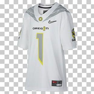 Oregon Ducks Football T-shirt Sports Fan Jersey Oregon Ducks Baseball Sleeve PNG