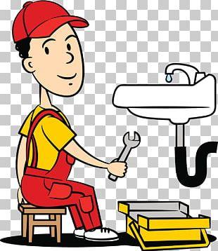 Water Pipe Repair Workers PNG