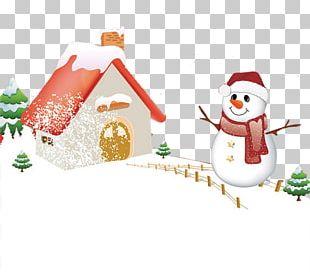 Christmas Ornament Snowman PNG