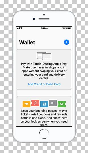 IPhone X Apple Pay Apple Wallet Mobile Payment PNG