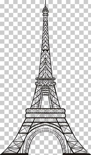 Eiffel Tower Sketch Tower Drawing PNG