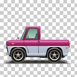 Pickup Truck Car Euclidean PNG