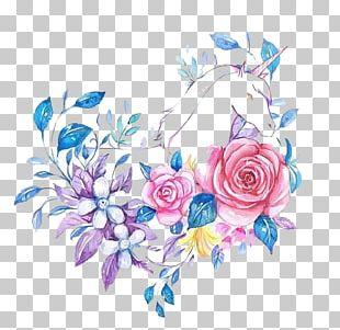Floral Design Watercolor Painting Flower Illustration PNG