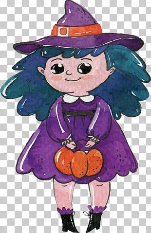 Boszorkxe1ny Witchcraft Illustration PNG