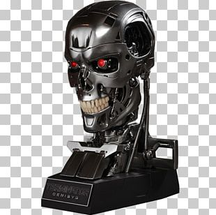 The Terminator Skynet Skull Cyborg PNG
