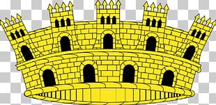 Spain Mural Crown Crest Coroa Real PNG