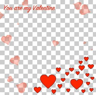 Valentine's Day Heart Love February 14 PNG