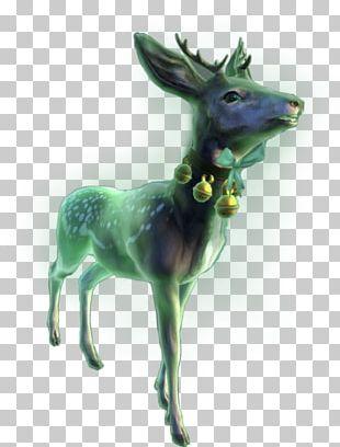 Neverwinter Winter Festival Reindeer PNG