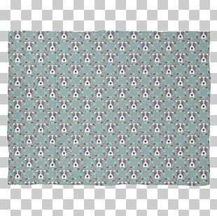 Pit Bull Blanket Rectangle Green PNG
