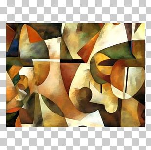 Modern Art Painting Abstract Art Still Life Room PNG