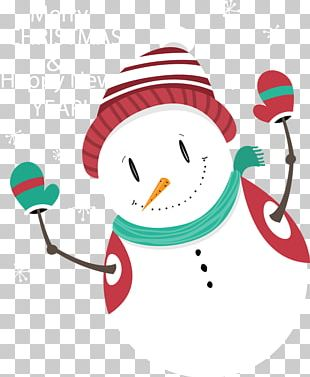 Christmas Card Greeting Card Snowman New Year PNG