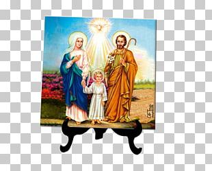 Nazareth Holy Family Holy Card Mother PNG