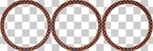 Rim Circle Pattern PNG