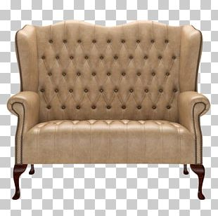 Loveseat Club Chair Couch PNG
