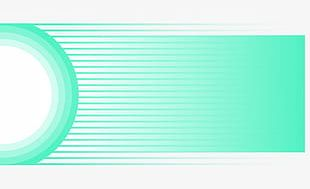 Simple Light Green Circles With Gradient Background Bar PNG
