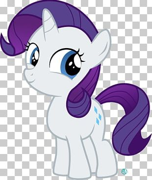 Rarity Horse Pony Filly PNG