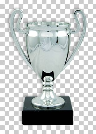 Trophy Silver Cup Commemorative Plaque Award PNG