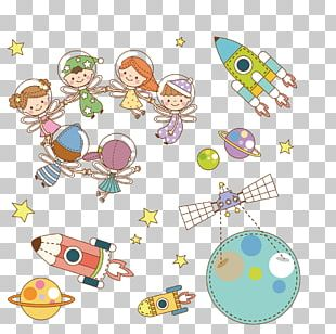 Universe Outer Space Cartoon PNG