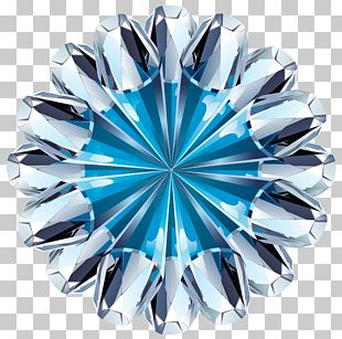Blue Diamond Ring PNG