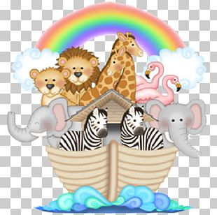 Noah's Ark Child Infant Wall Decal Mural PNG